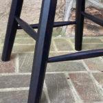 carved-edge work stool